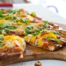 Chicken Fajita Pizza 3