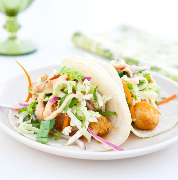 Eclectic recipes fish tacos with yum yum sauce for Fish burrito recipe