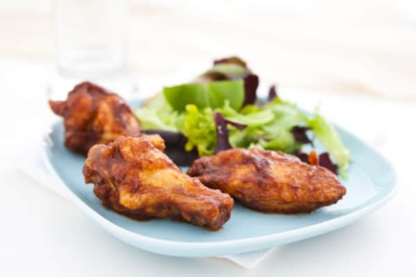 Chipotle Apple Butter Wings @EclecticEveryday