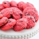 Chocolate Raspberry Cookies @EclecticEveryday