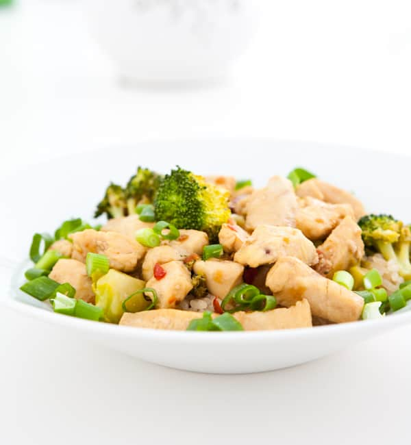 Orange Chicken  by EclecticRecipes.com #recipe