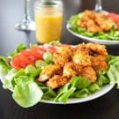 Cheddar Jack Bacon Chicken Salad by EclecticRecipes.com #recipe