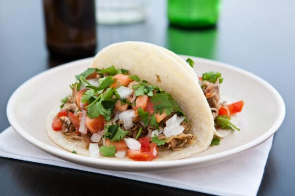 Crockpot Pork Carnitas by EclecticRecipes.com #recipe