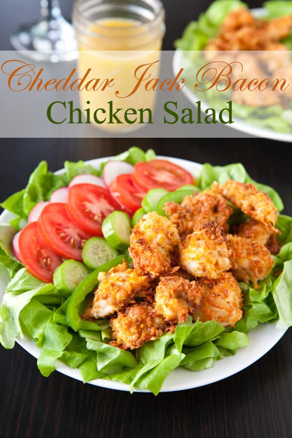 Cheddar Jack Bacon Chicken Salad @EclecticEveryday