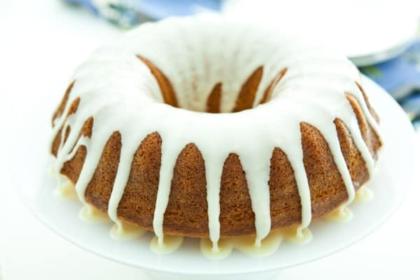 Orange Juice Cake by EclecticRecipes.com #recipe