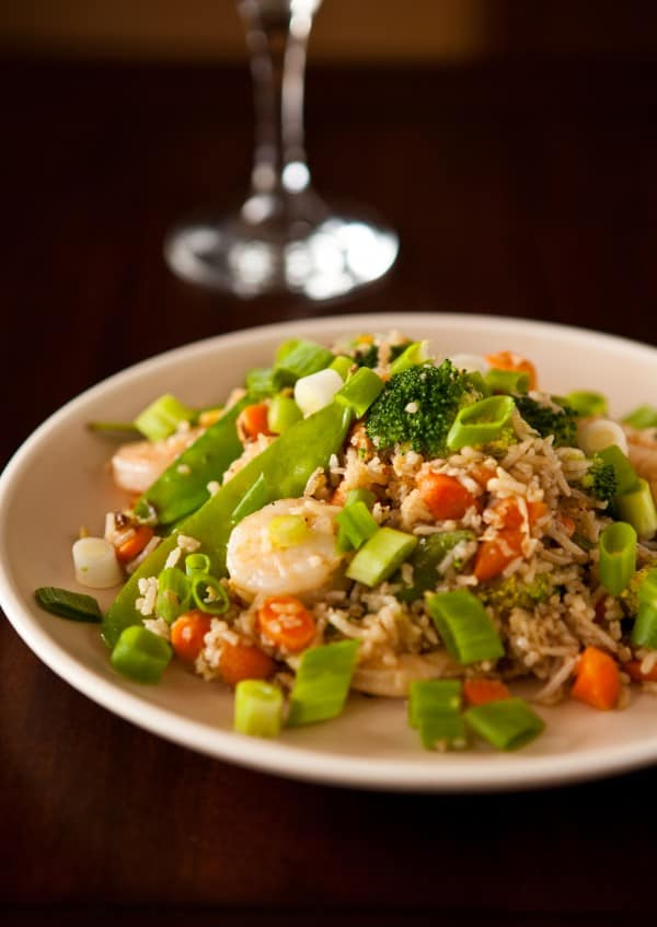 Shrimp Fried Rice @EclecticEveryday