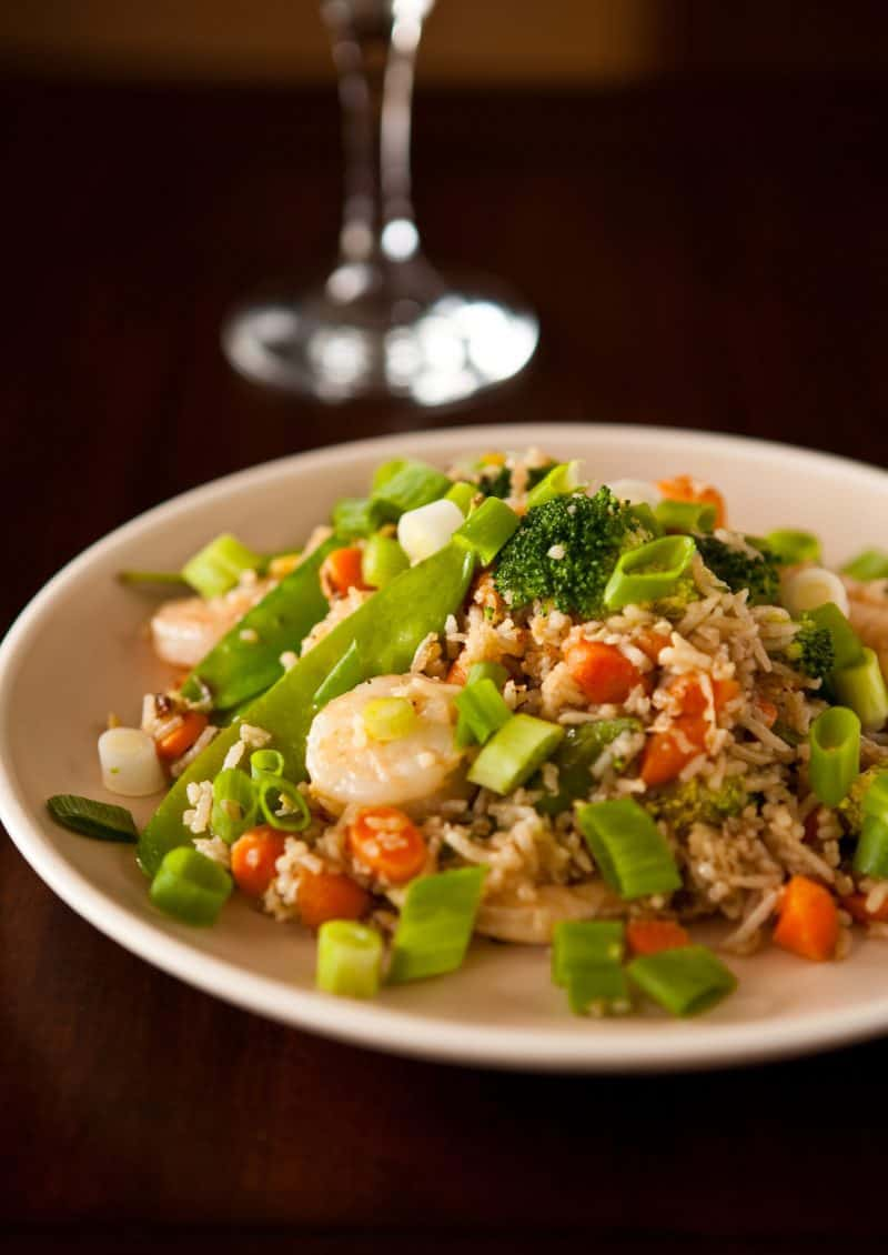 Eclectic Recipes » Shrimp Fried Rice