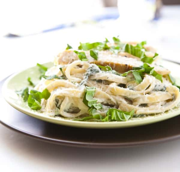 Ranch Chicken Fettuccine Alfredo @EclecticEveryday