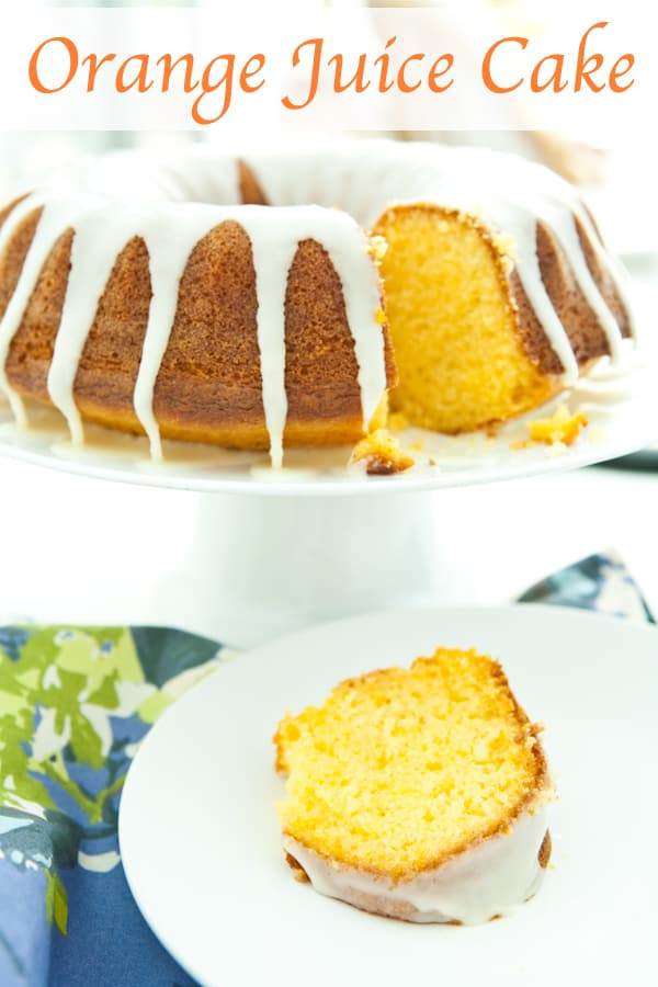 Orange Juice Cake @EclecticEveryday