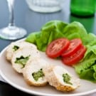 Mozzarella Pesto Stuffed Chicken Breasts @EclecticEveryday