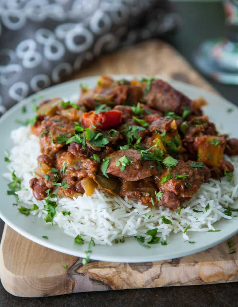Eclectic Recipes » Red Beans and Rice