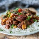 Red Beans and Rice by EclecticRecipes.com #recipe