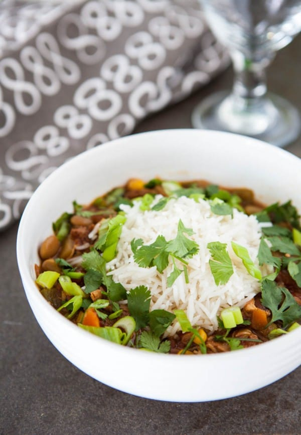 Slow Cooker Brunswick Stew and a $100 VISA Card Giveaway @EclecticEveryday