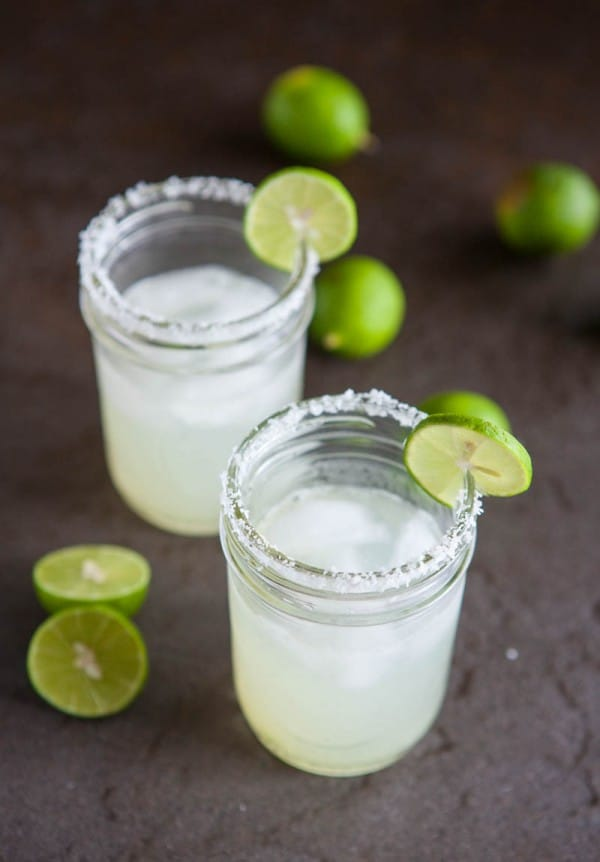 Key Lime Margaritas @EclecticEveryday