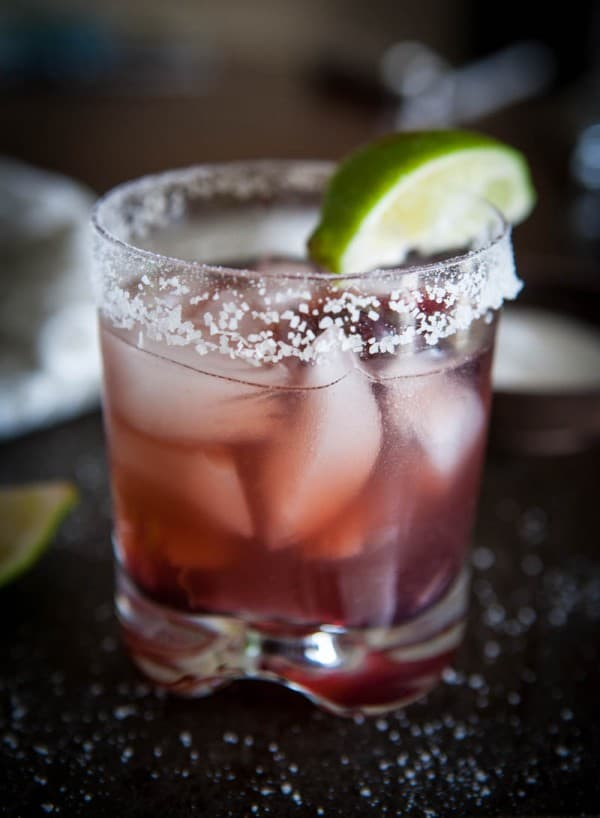 Eclectic Everyday » Raspberry Hibiscus Margarita