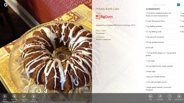 Find New Recipes with the Bing Food & Drink App #ThisIsBing @EclecticEveryday