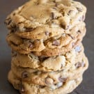 NY Times Chocolate Chip Cookies @EclecticEveryday