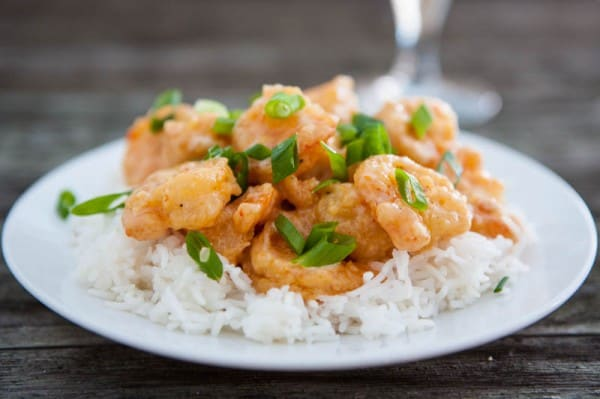 Bang Bang Shrimp by EclecticRecipes.com #recipe