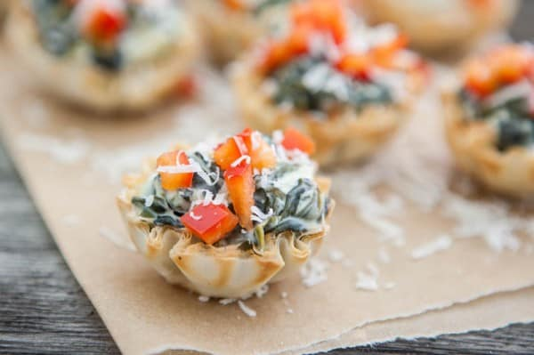 Spinach Artichoke Bites @EclecticEveryday