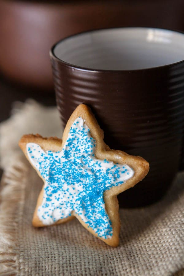 Holiday Star Cookies @EclecticEveryday