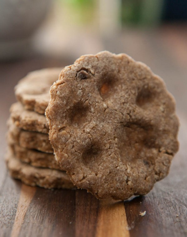 Paw Print Dog Treats @EclecticEveryday