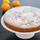 Orange Almond Cake by EclecticRecipes.com #recipe