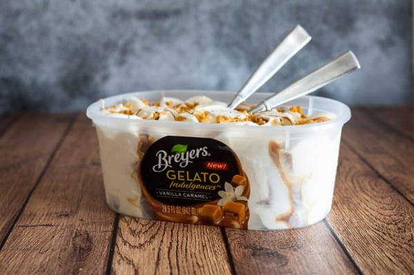 Easy Date Night Desserts   Breyers Gelato @EclecticEveryday