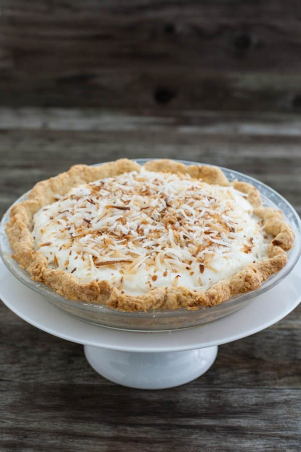 Crème De La Cream (Fresh Coconut Pie Recipe) @EclecticEveryday