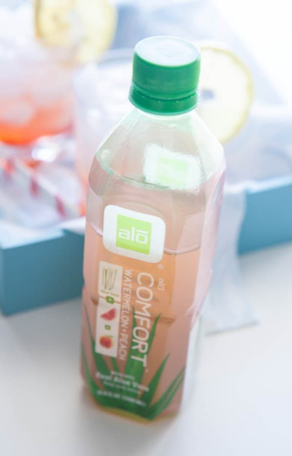 Eclectic Everyday » Watermelon Peach ALO Spritzer