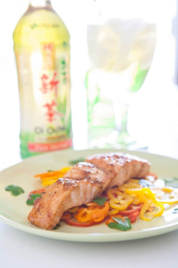 {Giveaway} Ginger Tamari Salmon  @EclecticEveryday