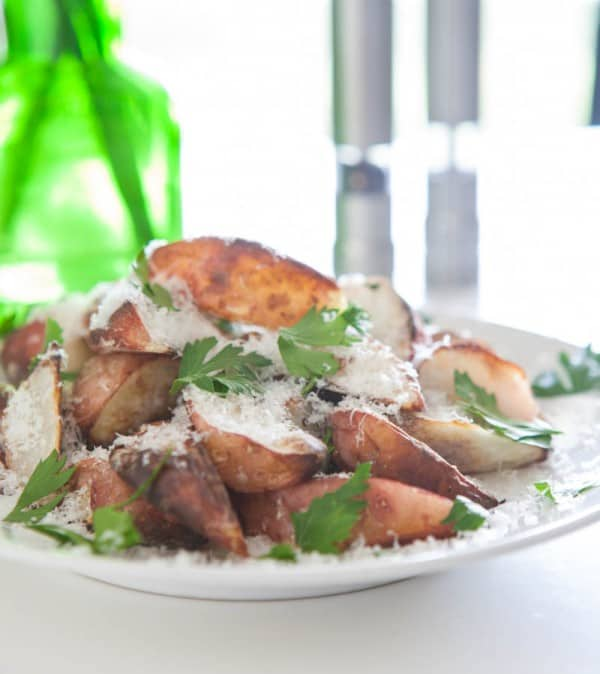Parmesan Potatoes  @EclecticEveryday