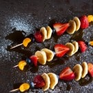 Pancake and Fruit Skewers 2