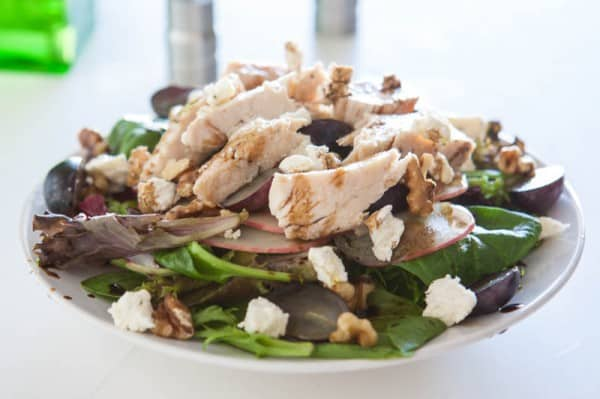 Eclectic Everyday » Grilled Chicken Normandy salad
