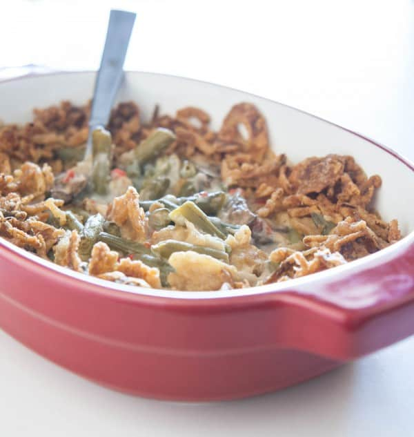 Easy green bean casserole with blue cheese - Cook and Post