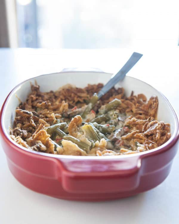 Easy Green Bean Casserole @EclecticEveryday