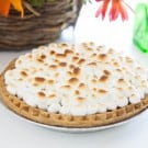 Sweet Potato Pie with Marshmallows and Spiced Cream  @EclecticEveryday