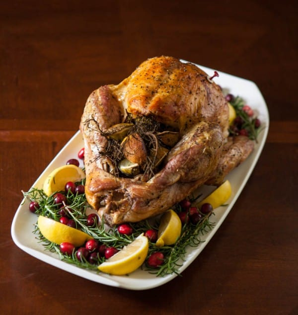 Lemon Rosemary Roast Turkey @EclecticEveryday