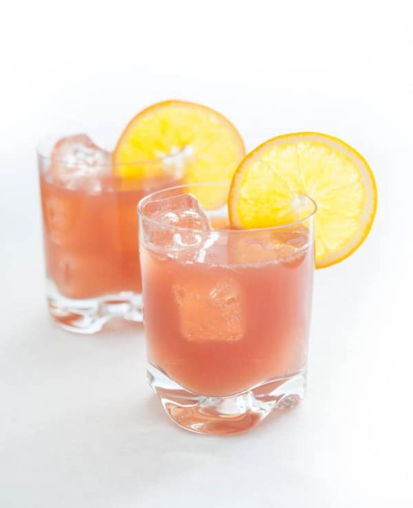Cranberry Creamsicle Cooler  @EclecticEveryday