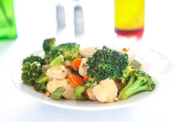 Sweet Chili Chicken Stir Fry @EclecticEveryday