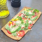 Florida Flatbread with Tomatoes and Sweet Peppers 6