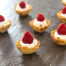 Lemon Raspberry Cheesecake Bites @EclecticEveryday