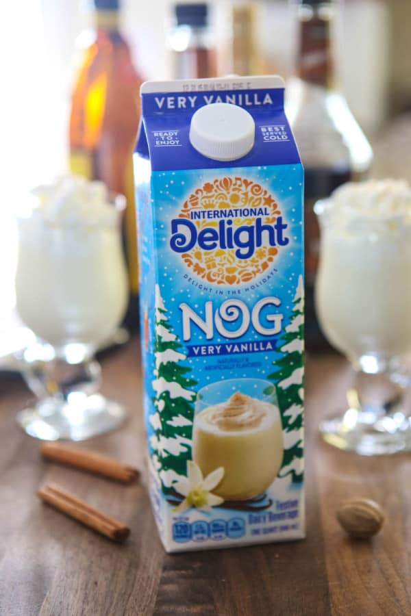 Holiday Eggnog Bar @EclecticEveryday