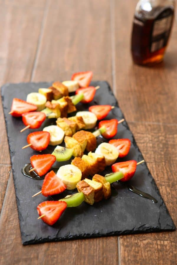 French Toast Skewers @EclecticEveryday
