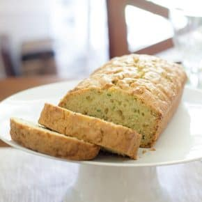 Lemon Zucchini Bread @EclecticEveryday