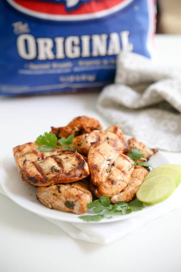 Chili Cilantro Lime Marinated Grilled Chicken @EclecticEveryday