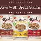 Save With Great Grains! @EclecticEveryday