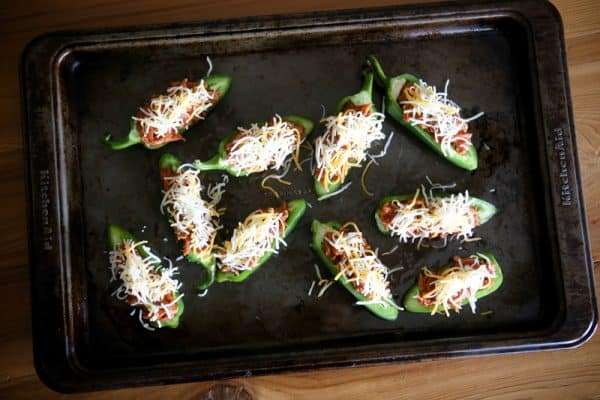 BBQ Stuffed Jalapeños  @EclecticEveryday