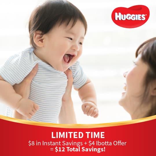 Get Instant Savings on Huggies at Sam's Club!