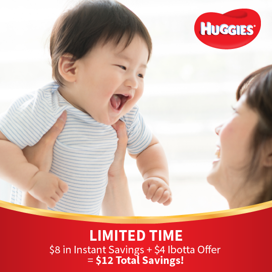 Get Instant Savings on Huggies at Sam's Club!