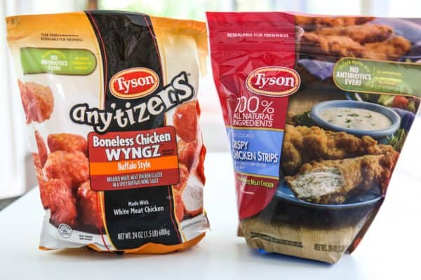 Tyson® Any'tizers buffalo style boneless chicken Wyngz